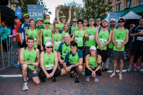 Our legendary team The Visionaries smashing the 2015 HBF Run for a Reason.